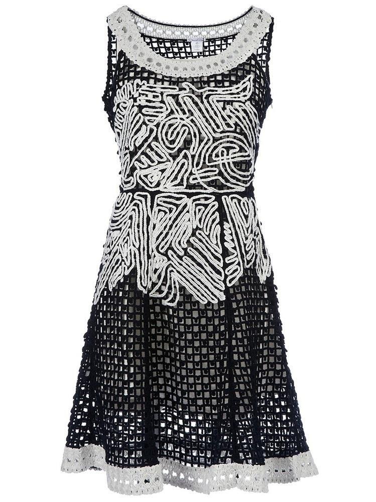 OSCAR DE LA RENTA Embroidered dress    $2,289.94