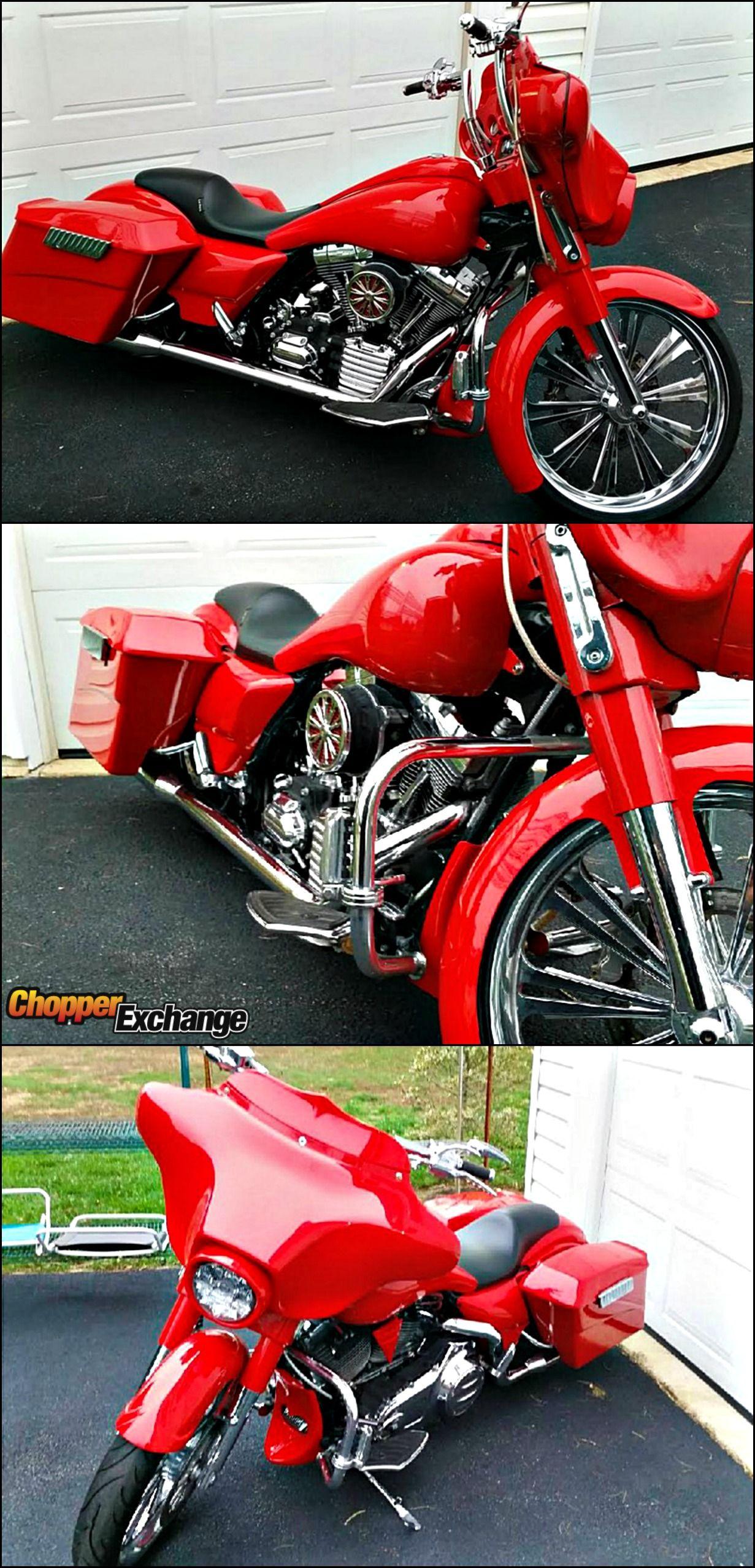 2010 Harley-Davidson® FLHX Street Glide® | Custom baggers ...