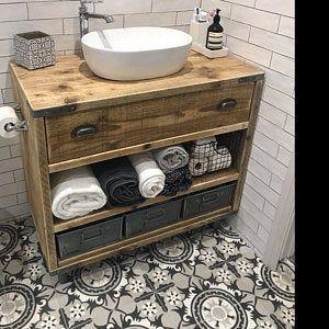 Oxford Reclaimed Wood Vanity Bathroom Wood Bathroom Vanity Cabinet Bathroom Vanity Rustic Rustic Bathroom Vanity In 2020 Wooden Bathroom Vanity Reclaimed Wood Bathroom Vanity Wooden Bathroom