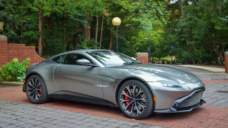 2019 Aston Martin Vantage Quick Spin Review Aston Martin Vantage Aston Martin Cars Aston Martin