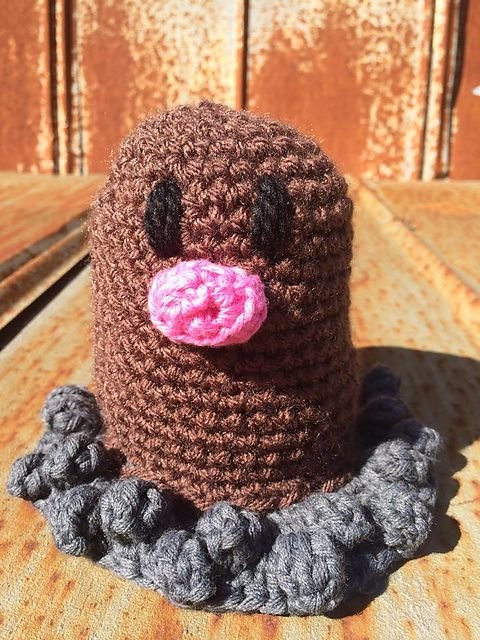 Ravelry: Diglett (Pokemon) pattern by Chasity Edwards