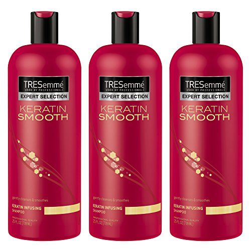Tresemm Keratin Smooth Shampoo 25 Oz 3 Count Best Value Buy On Amazon Tresemme Keratin Smooth Tresemme Shampoo Shampoo
