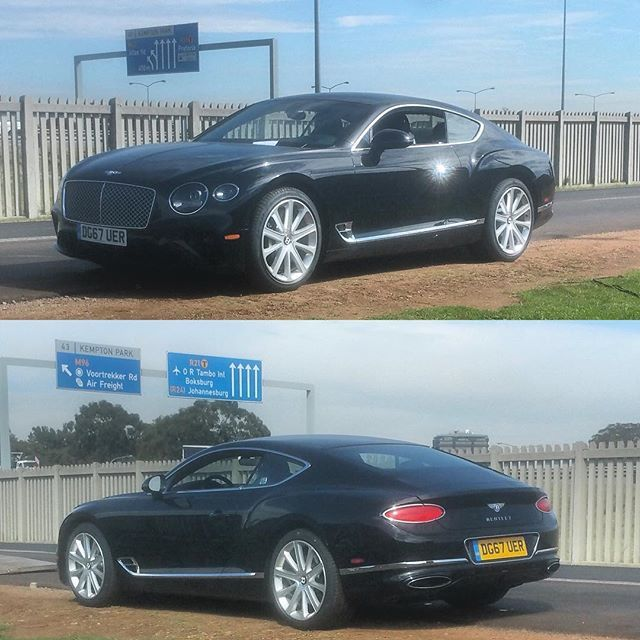 The All New Bentley Continental Gt Has Arrived In South Africa