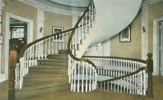 Interior del Old State house de BOSTON