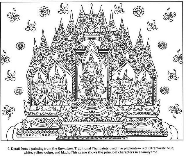 Thai Decorative Designs