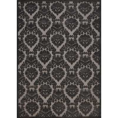 Three Posts Weissport Silver/Gray Area Rug Rug Size: