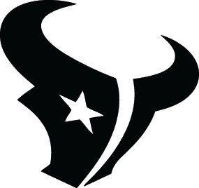 Houston Texans Football Logo Custom Vinyl Graphic By VinylGrafix - Custom vinyl decals houston tx
