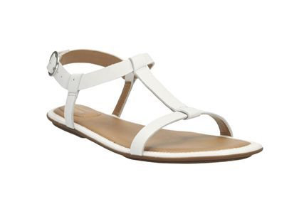 womens casual sandals  risi hop in white leather from