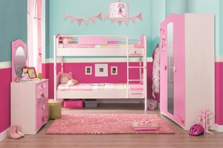 Kinderkamer Vlinder Compleet : Elsa stapelbed compleet meisjeskamer kinderkamer inspiratie