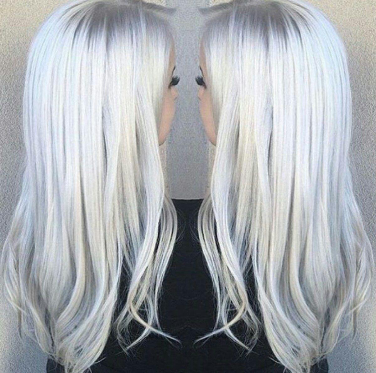 Tinte para el pelo color blanco