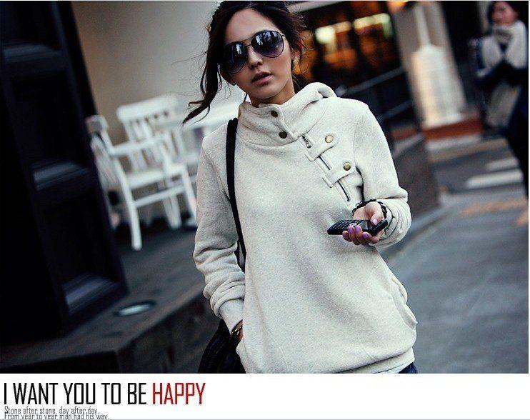 New 2014 Women Hoody Sweatshirt Plus Size Fashion Girls Hoodies Winter Outerwear Parka Coats Fleece Warm Moleton Women Pullovers 185 грн