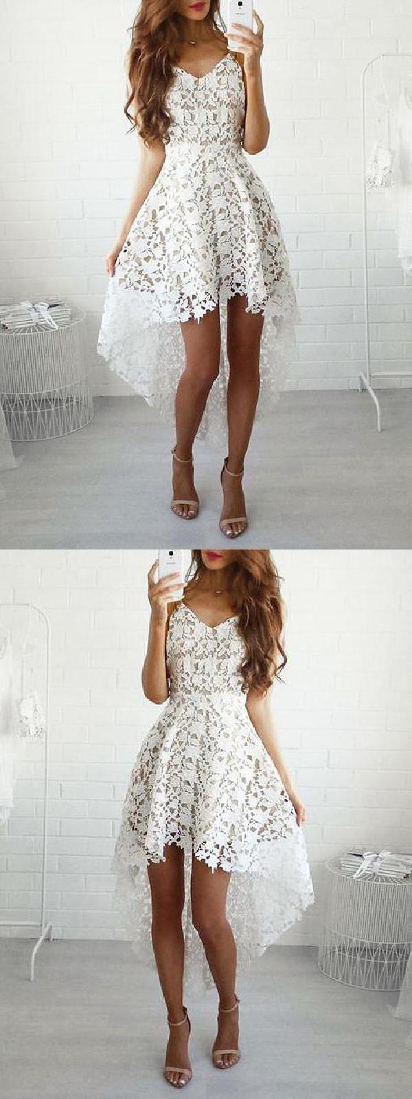 Comfortable prom dresses short asymmetrical homecoming dress short