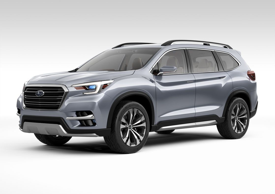 2019 Subaru Ascent New Three Row Large Suv From Subaru 2019