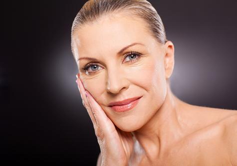 matured-facial-skin-care