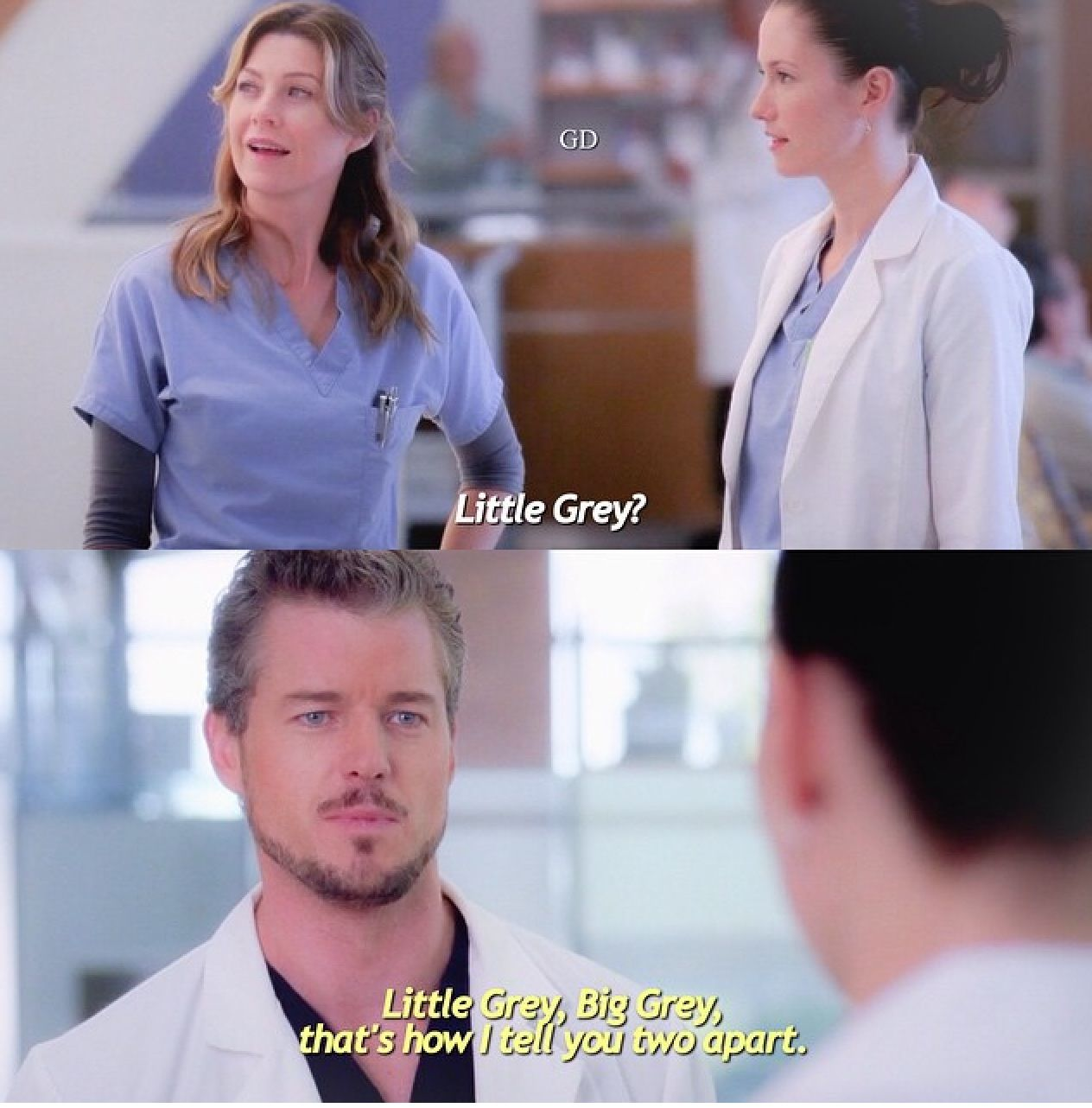 Meredith , Lexie and Mark | Greys ️ | Grey's anatomy, Grey ...
