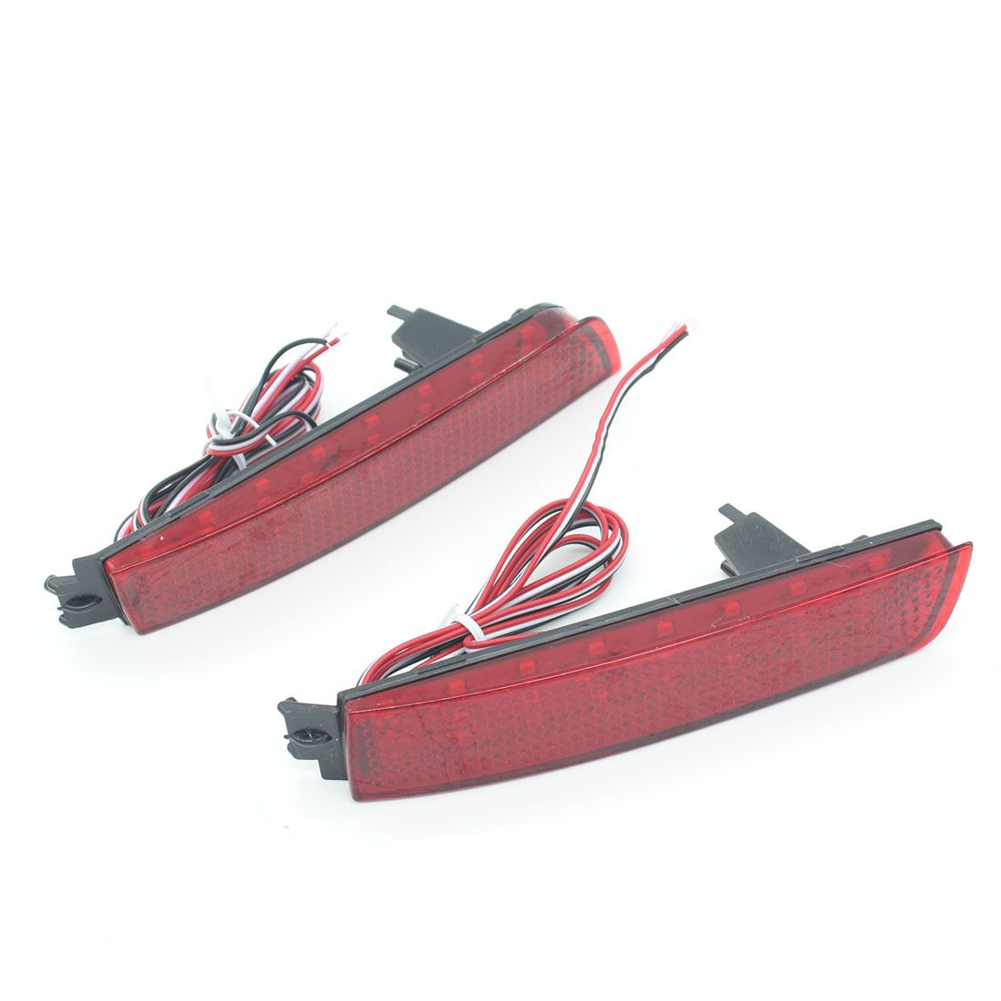 Dongzhen Fit For Nissan Bluebird Sylphy Almera LED Red