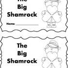 Differentiated Shamrock - St. Patrick's Day emergent reader set - 4 versions - sight words, color words and more!