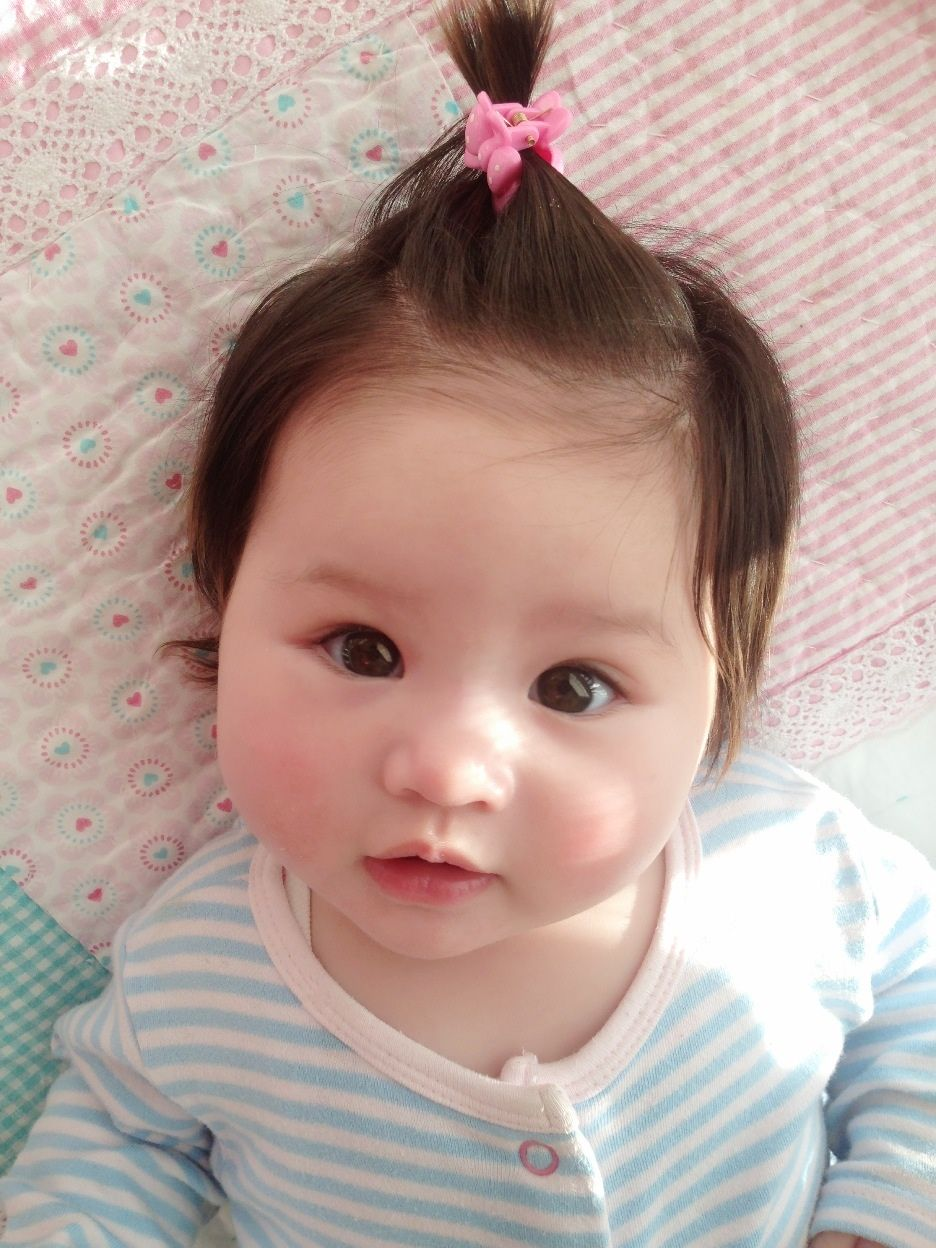 Half White Half Asian Baby 9