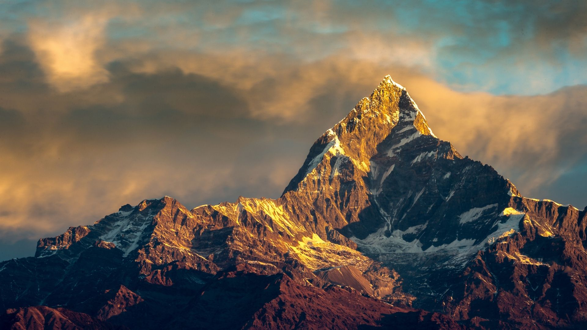 Pin By None On Hd Wallpaper Annapurna Base Camp Mountain