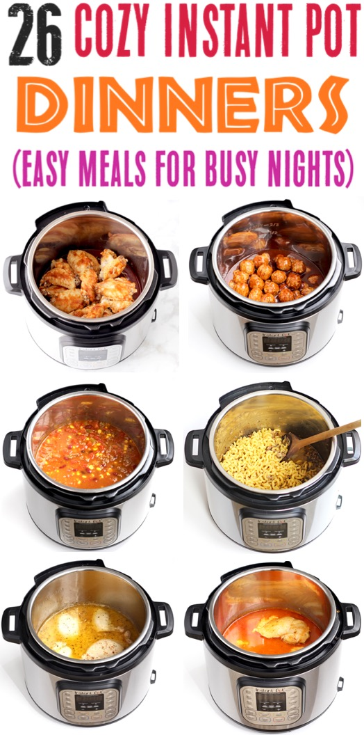 Instant Pot Recipes Easy Beef And Chicken Family Dinner Ideas Instant Pot Dinner Recipes Pot Recipes Healthy Pot Recipes Easy
