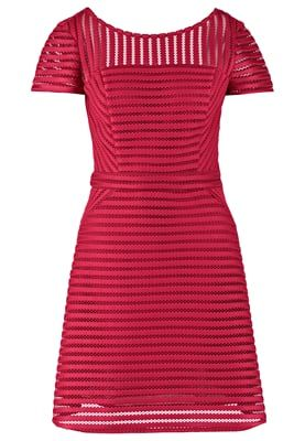 Korte jurk - framboise