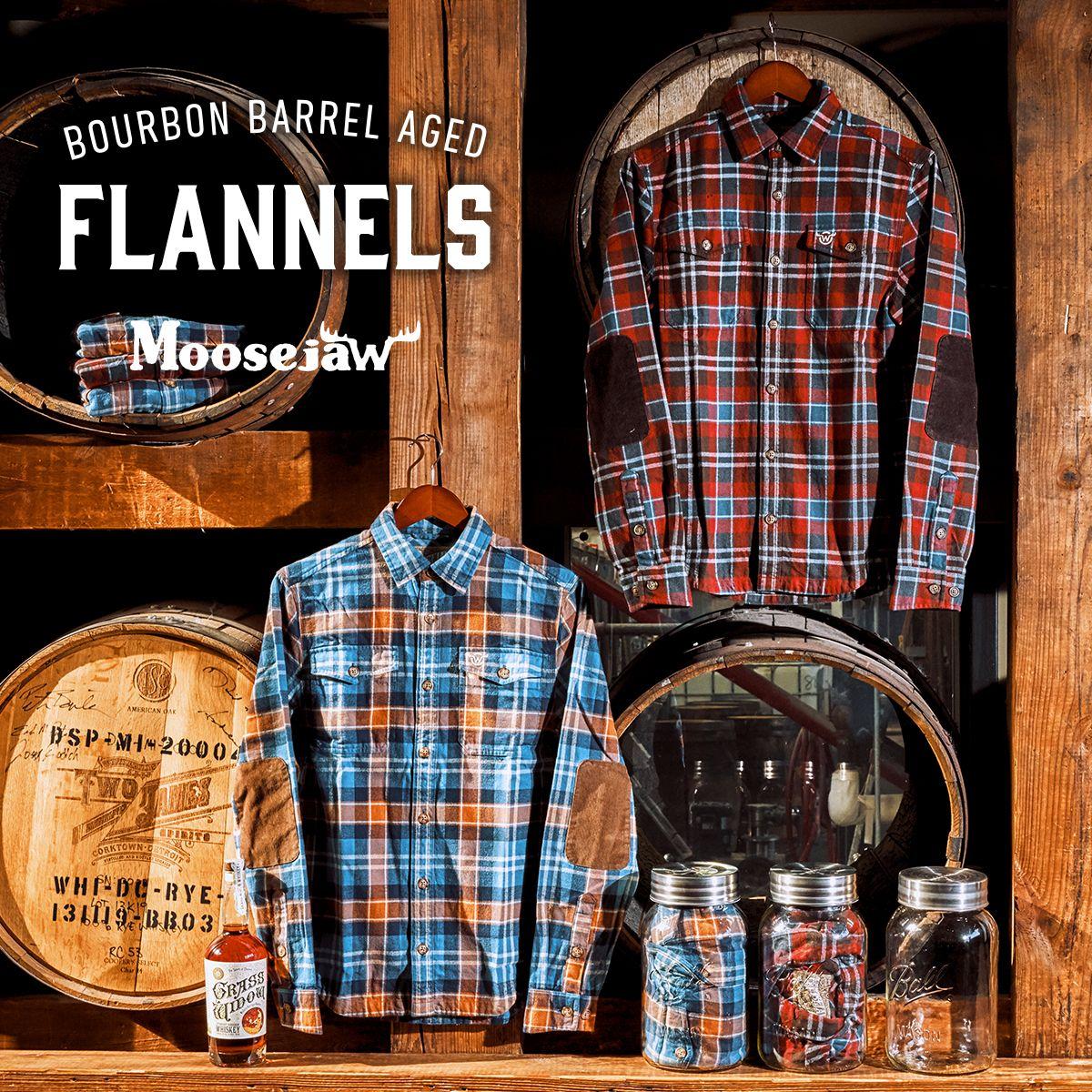 Moosejaw 2019 Bourbon Barrel Aged Flannel Bourbon barrel