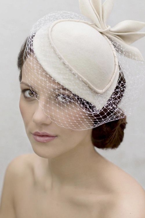 This collection of bridal fascinators and hats will enchant modern brides  and honored guests. Maggie Mowbray hat. d3cbae893399