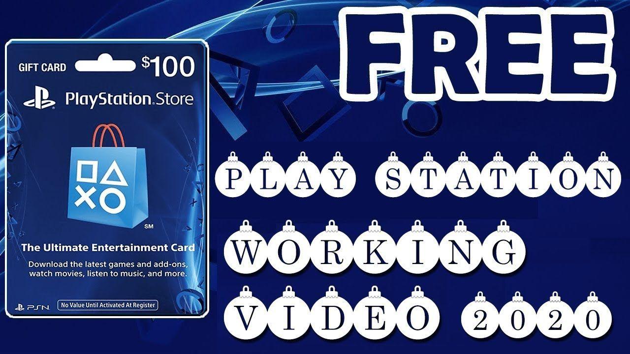 Free Psn Gift Card Codes Ps4 Promo Codes Giveaway 2020 Free Psn Gift Card Codes Ps4 Promo Codes G Google Play Gift Card Ps4 Gift Card Gift Card Generator