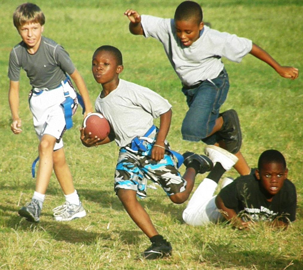 kids playing football Kids playing football, Football