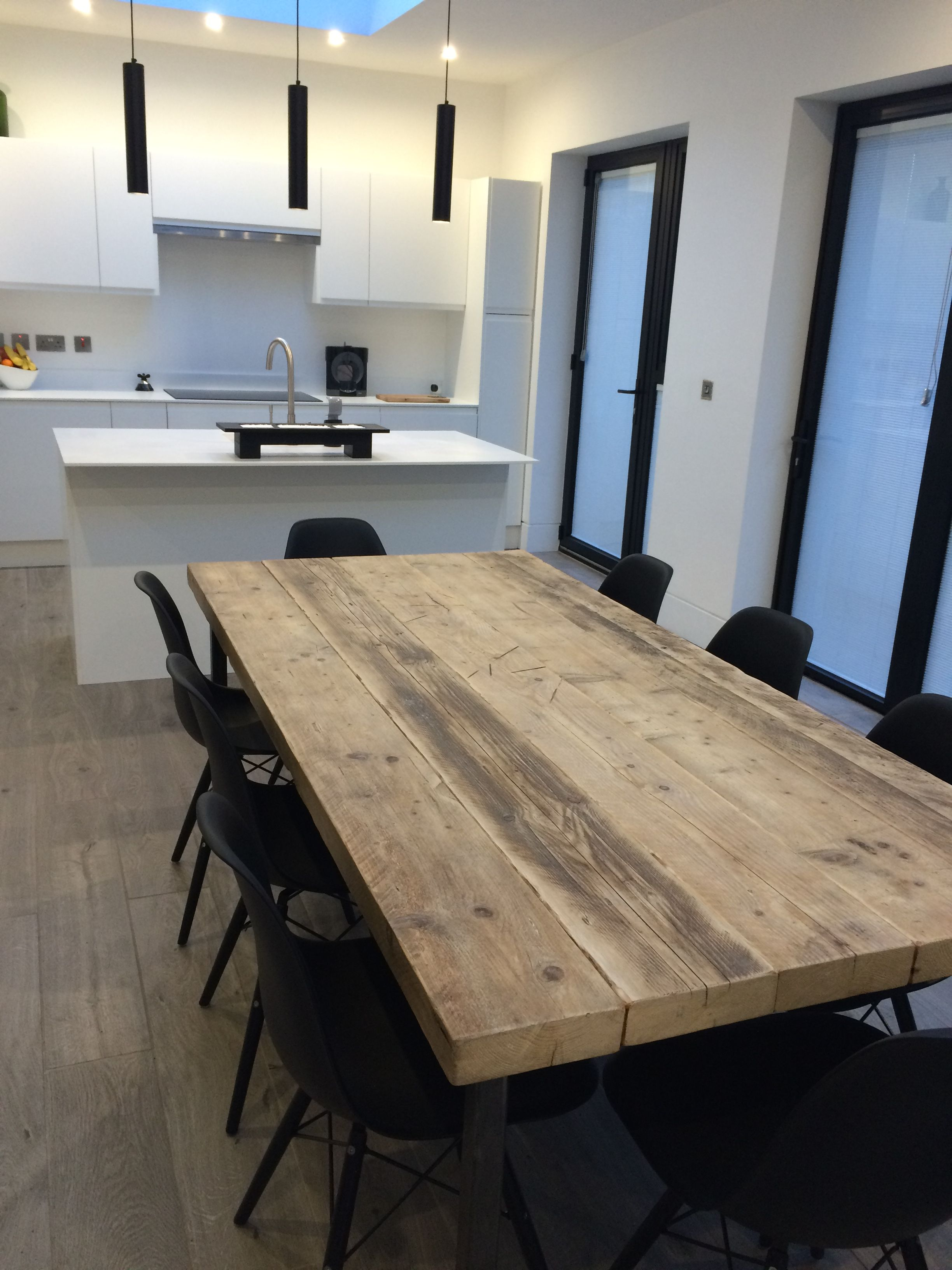 Industrial Mill Reclaimed Wood Dining Table Www Reclaimedbespoke