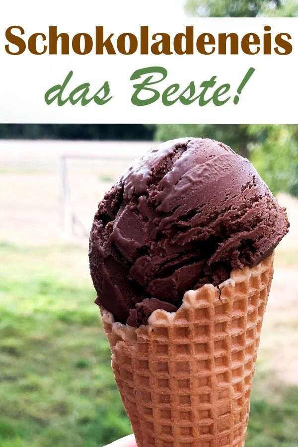 Das beste Schokoladen-Eis.