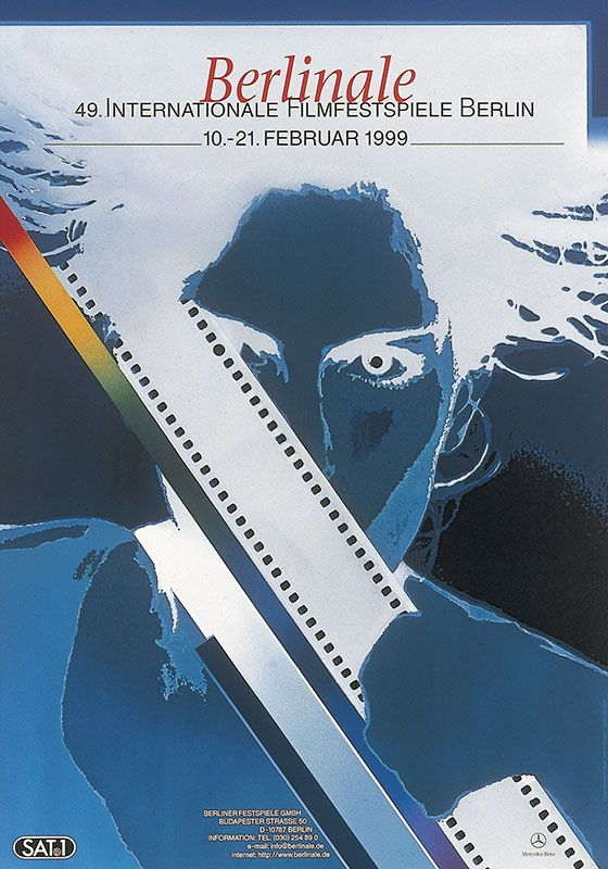 49th_Berlin_International_Film_Festival_poster año 1999