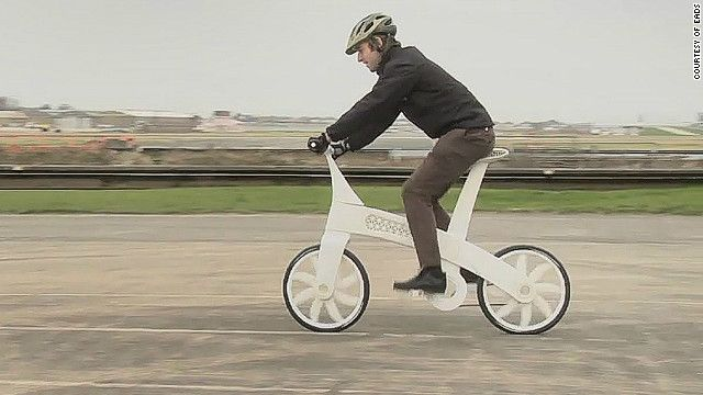 Bicicleta impressa