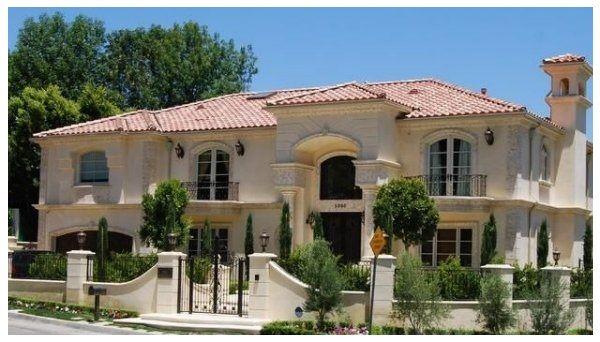 fotos de fachadas de casas estilo californiano casa
