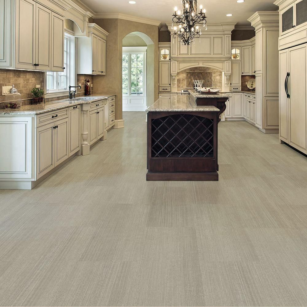 Take home sample allure cream concrete resilient vinyl for Allure flooring