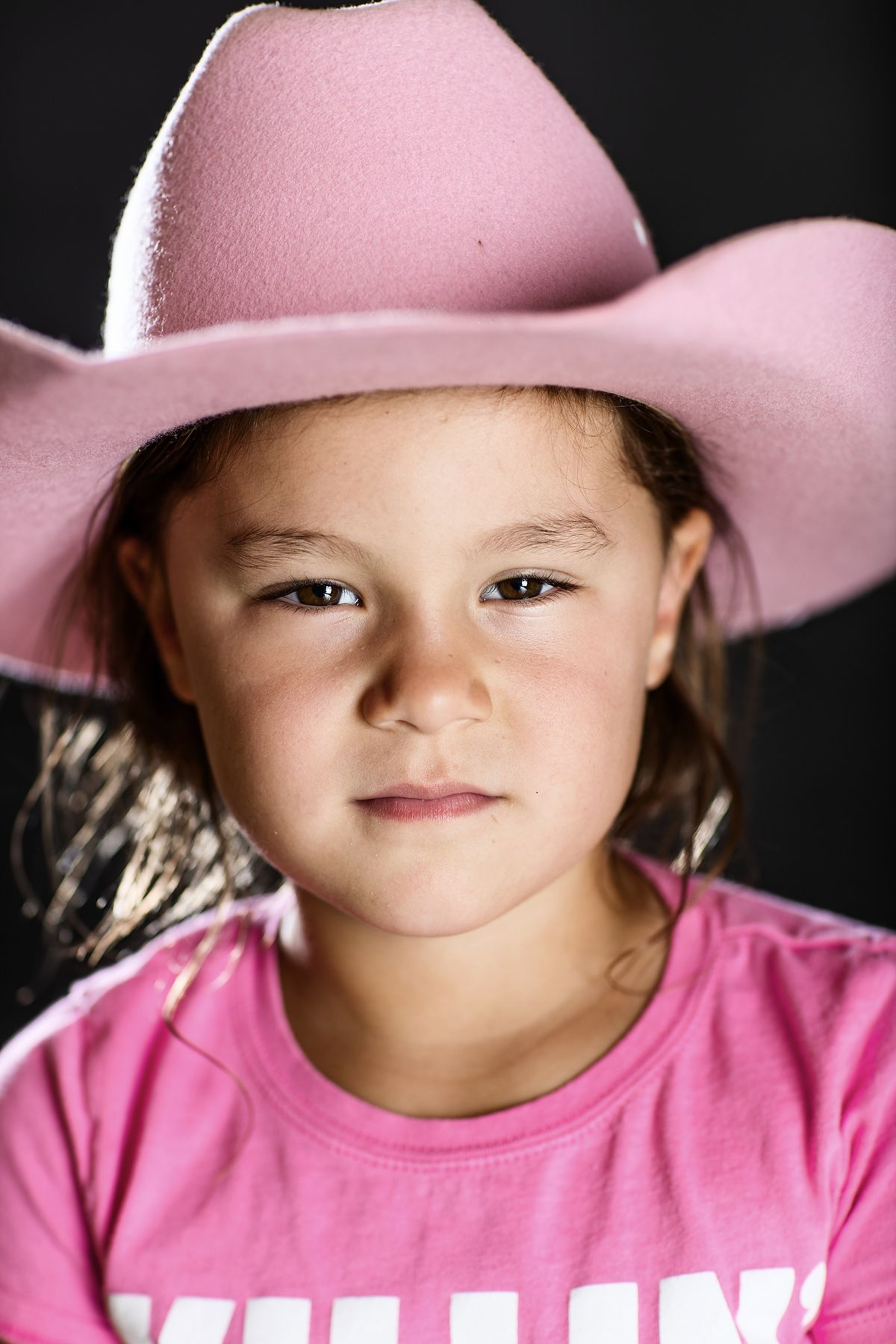 Jeremy's daughter Clara makes a pretty good cowgirl!  | Waggoner Ranch photographed by Jeremy Enlow