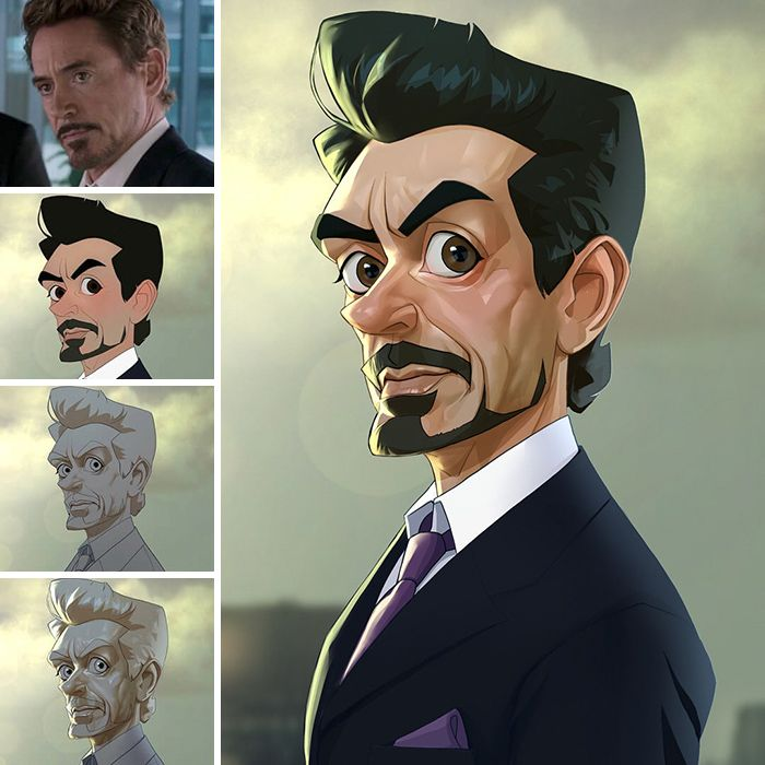 Photo of This Artist Turns Movie Characters Into Cartoons