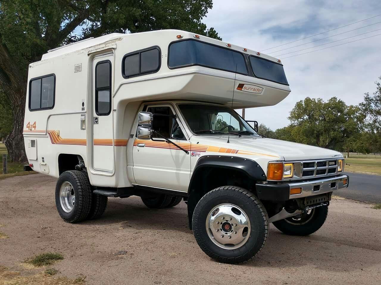 Toyota camper..st Toyota camper, Suv camper, Toyota trucks