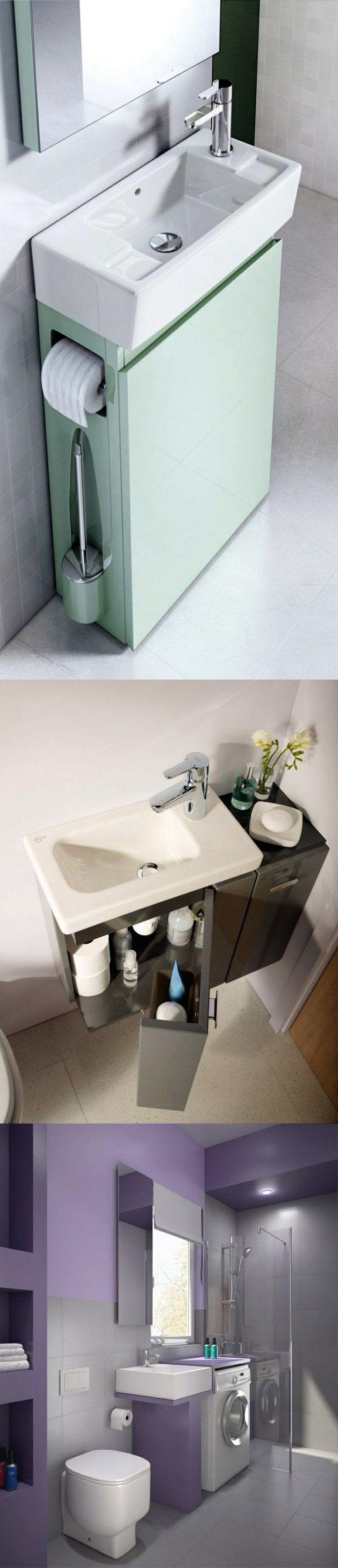 Badideen für kleine räume small bathroom ideas spacesaving modern bathroom furniture