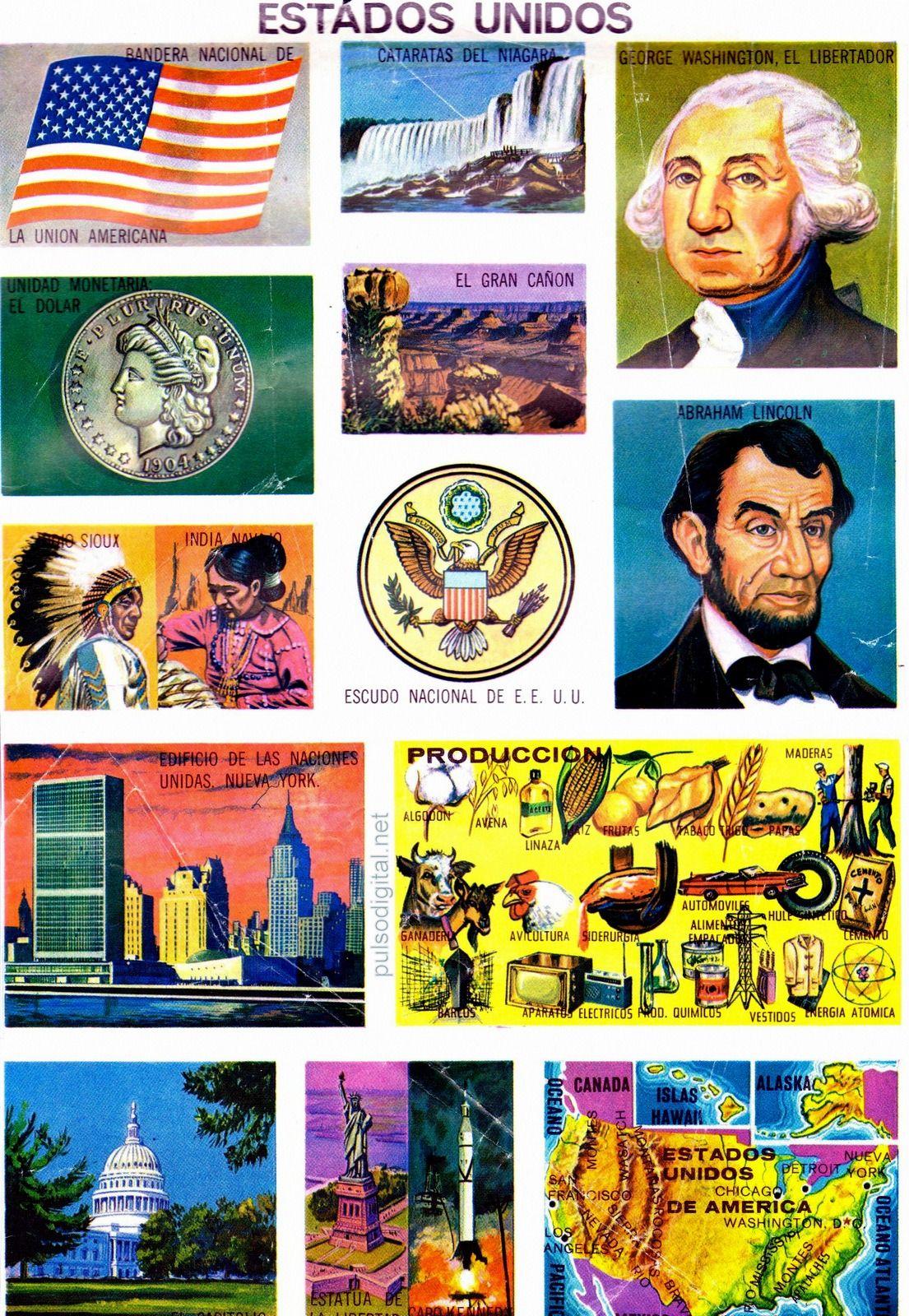 Los Estados Unidos De Norteamerica Monografia
