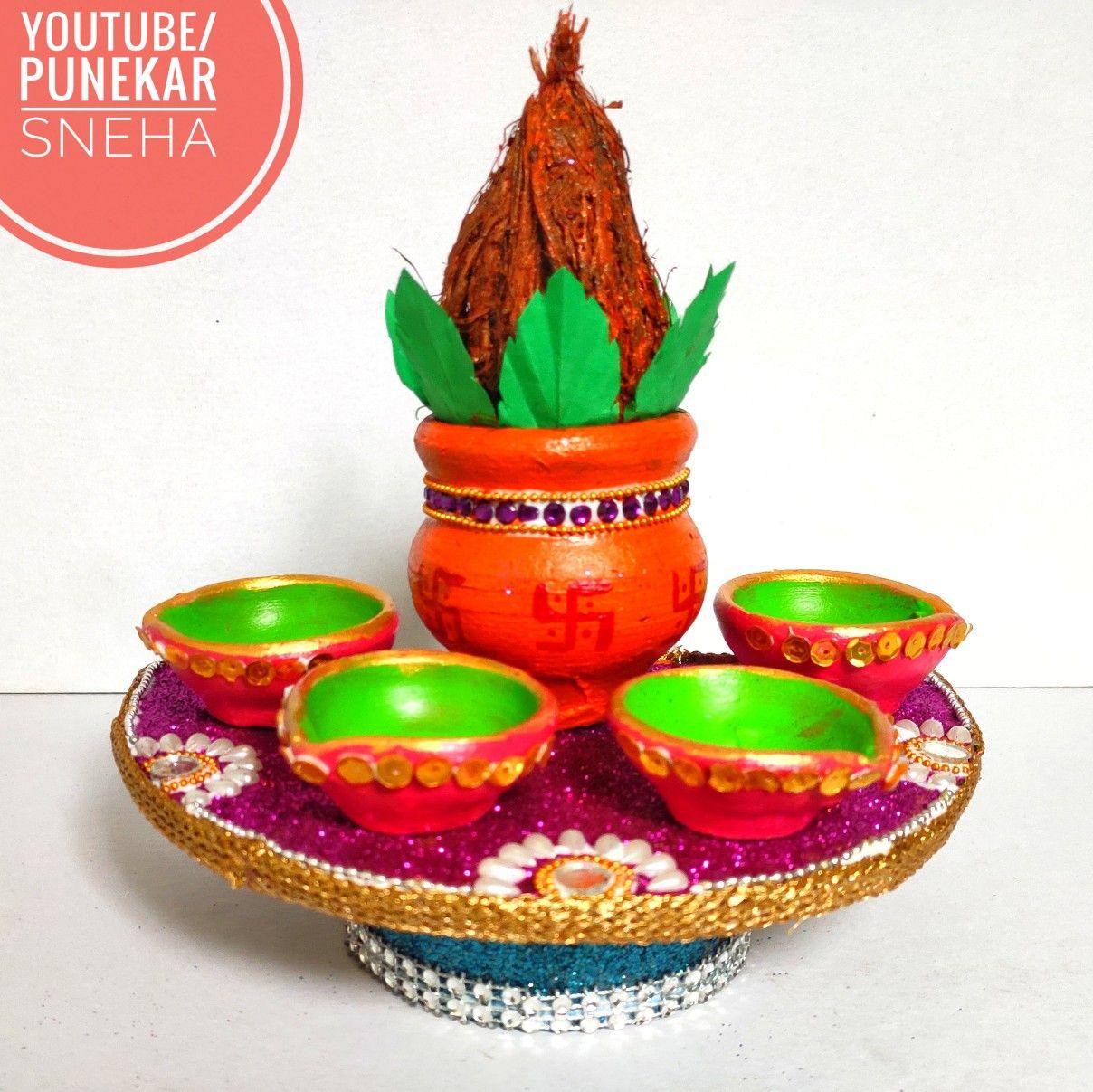 Diwali Decoration Ideas Diya Decoration Diwali Decorations
