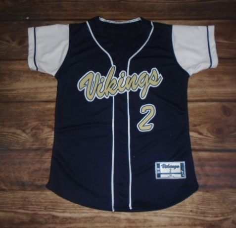 Take A Look At This Custom Jersey Designed By Middleton High School Vikings Softball And Created Sport Shirt Design Youth Baseball Jerseys Baseball Jersey Men