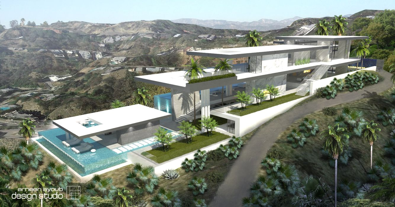 Hilltop Residential Home Above Sunset Plaza In Los Angeles