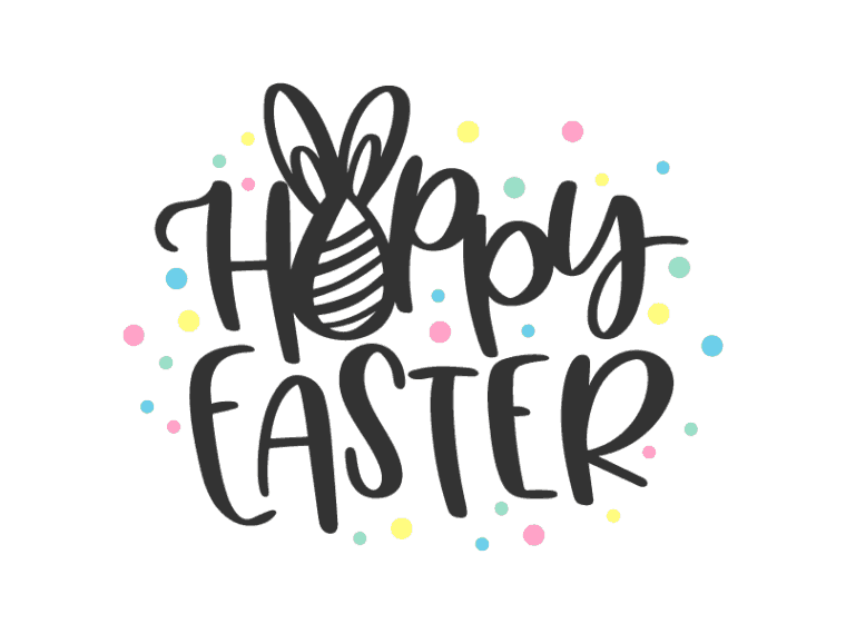 Free Hoppy Easter SVG DXF PNG & JPEG