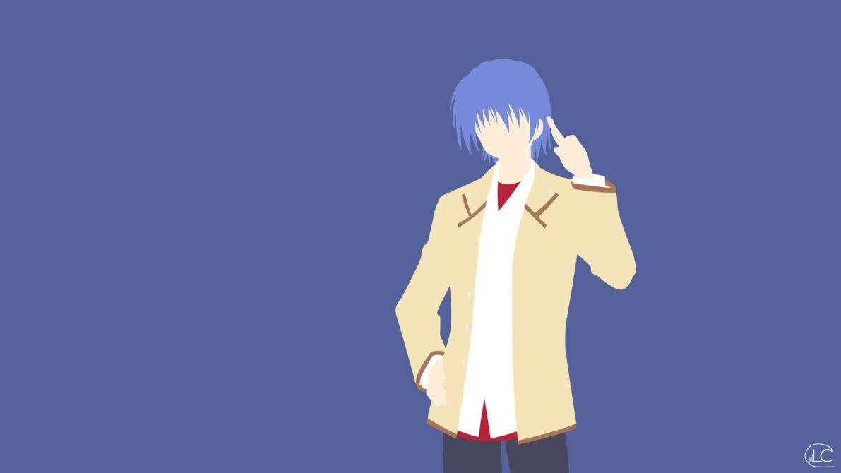 Minimalist Angel Beats Angel Beats Minimalist Anime The Ancient Magus Bride