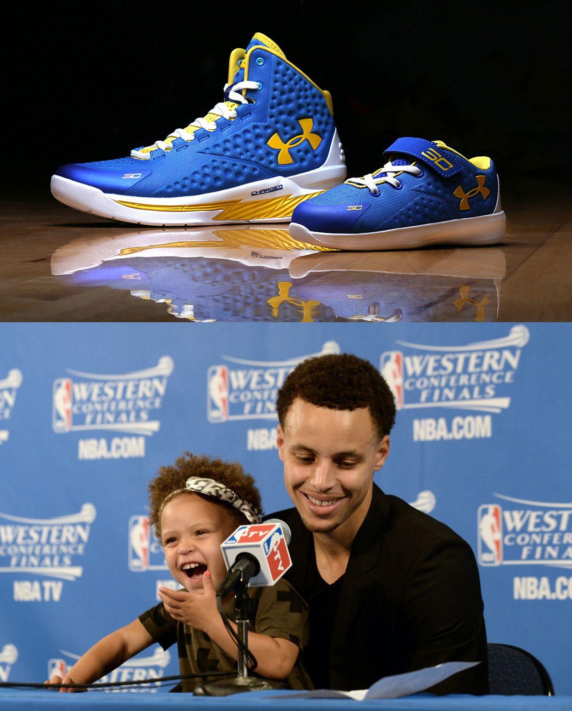 84d1e3c076ec Riley Curry s Under Armour shoe
