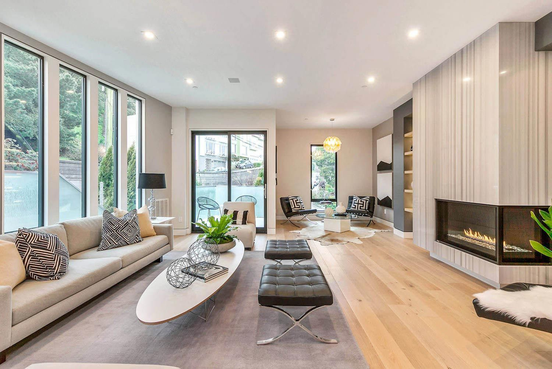 Bright and modern home design in San Francisco by Vaso Peritos ...