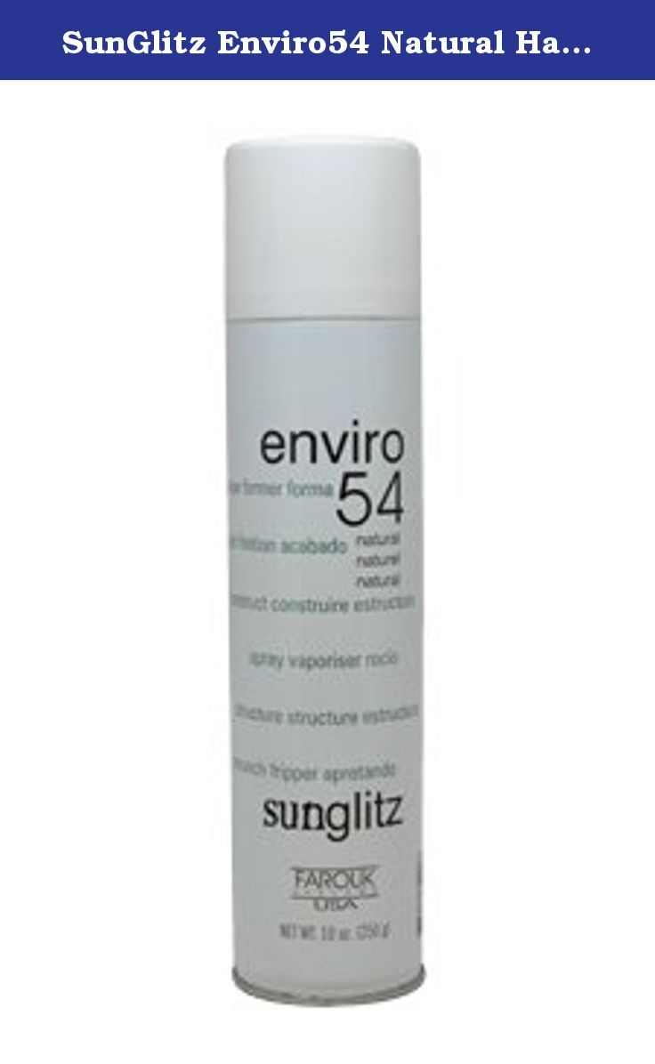 Sunglitz Enviro54 Natural Hair Spray Unisex 10 Oz Sunglitz Enviro