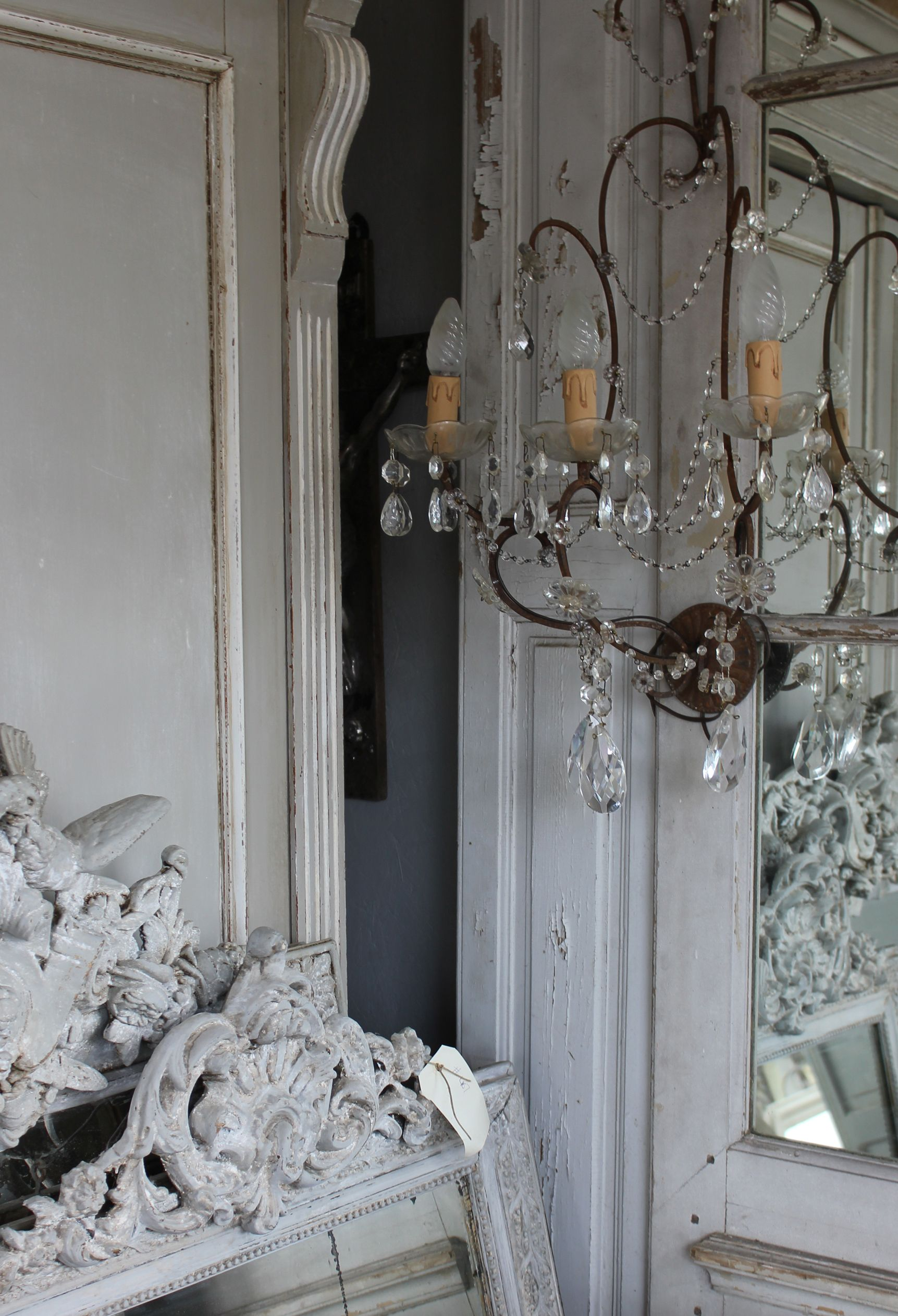 Atelier De Campagne Sconce And Mirrors