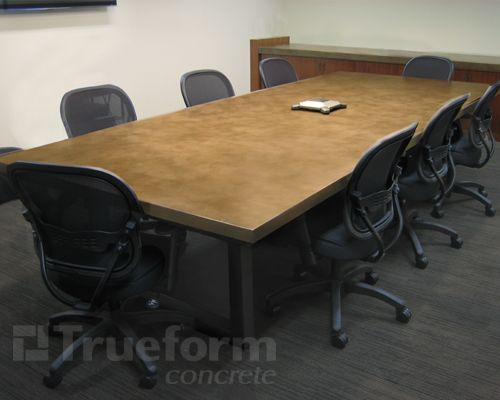 Concrete Tables 12 Foot Conference Room Table Concrete Conference Room Table Dining Table In Kitchen Concrete Table Concrete Kitchen